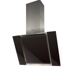 Hota decorativa Nodor VULCANO BLACK, C, 200 W, 90 cm, negru