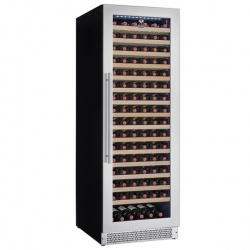 Vitrina vinuri incorporabila Tecfrigo Sommelier 401 Plus, capacitate 403 l, temperatura +5/+20, negru