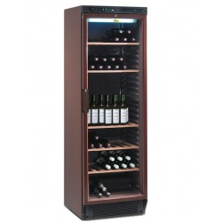 Vitrina de vinuri Tecfrigo TFGV 138, 345 l, 108 sticle, temperatura +10/+18, Maro