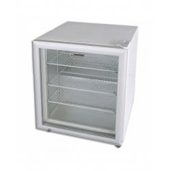Mini vitrina frigorifica Tecfrigo PUNTOGEL 90, capacitate 90 L, temperatura -18º C, alb