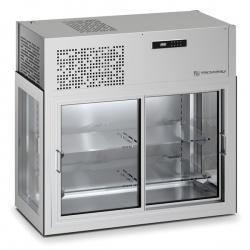 Vitrina frigorifica Tecfrigo DOUGLAS 13, de perete, capacitate 400 L, temperatura +4/+10º C, argintiu