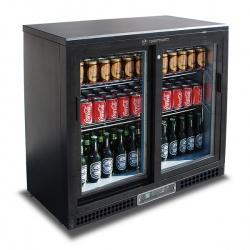 Vitrina frigorifica bauturi Tecfrigo PUB 250 PS, capacitate 254 l, temperatura +2/+8º C, negru