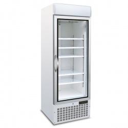 Vitrina frigorifica Tecfrigo POLO 450 GBT Spot, capacitate 578L, temperatura -18/-24°C, alb