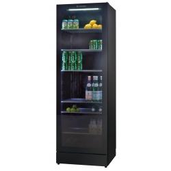Vitrina frigorifica Tecfrigo DRINK 360 FG, capacitate 368 L, temperatura +2/+10º C, negru