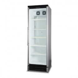 Vitrina frigorifica bauturi Tecfrigo DRINK 361, capacitate 368L, temperatura +2/+10°C, argintiu