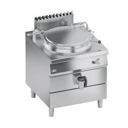 Marmita pe gaz , Ata Italia K4GPIS1011, 100 litri, încălzire indirecta