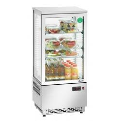 Mini vitrina frigorifica Bartscher 78 l otel inoxdabil