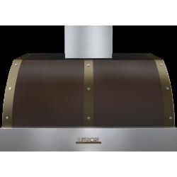 Hota perete Superiore HD36PBTMB DECO 36 ,1 motor, 900 m3/h, cotrol electronic maro mat cu finisaje bronz