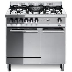 Aragaz LofraM85 E/C, 80x50 cm, gaz, 5 arzatoare, grill electric, timer, aprindere electronica, inox