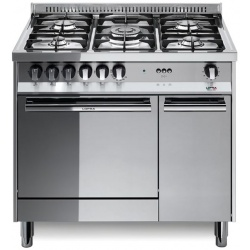 Aragaz Lofra Maxima MR96 MF/C, 90x60 cm, gaz, 5 arzatoare, grill electric, timer, aprindere electronica, inox