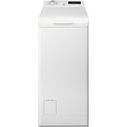 Masina de spalat rufe cu incarcare verticala Electrolux EWT1066ESW, TimeCare, 6 kg, 1000 RPM, Clasa A+++, Alb