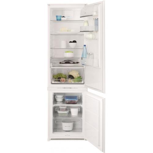Combina frigorifica incorporabila Eelctrolux ENN3153AOW, 292 l, H 185, Clasa A+, No Frost