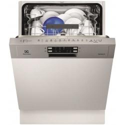Masina de spalat vase semi incorporabila Electrolux ESI5540LOX, 13 Seturi, 6 Programe, Clasa A++, 60 cm