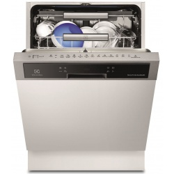 Masina de spalat vase partial incorporabila Electrolux ESI8730RAX, 15 seturi, 6 programe, 60 cm, Clasa A+++, Inox