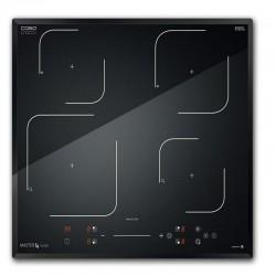 Plita cu inductie cu 4 zone Caso Master E4 Slide,7200W,15 nivele de putere,negru
